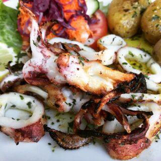Squid 🦑 for dinner tonight yum yum