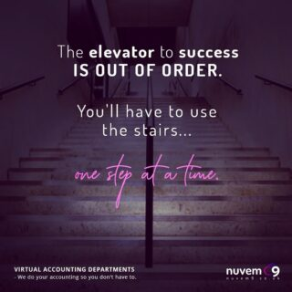 Yes - no sugar coating it - life's going to get tougher with all that's going on - you might think it's overwhelming, it might even be overwhelming but we're all going to get through it with graft, sweat and (tears). ELEVATORS are out - who's coming with us to the stairs? #virtualcfo #cashflow #covid_19 #wecandothis #whatdoesntkillyoumakesyoustronger